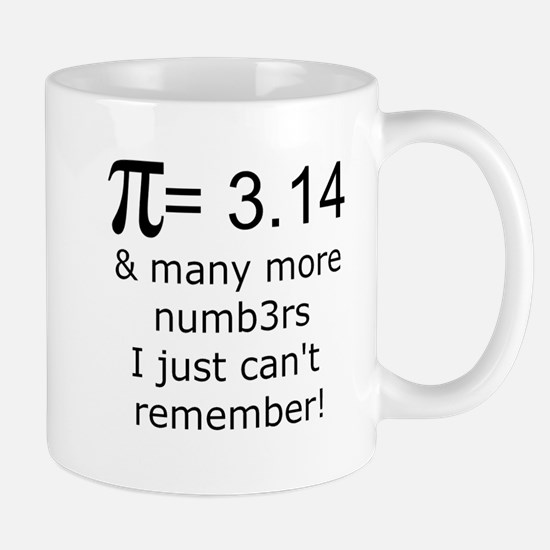 Pi = 3.14 & many more... Mug