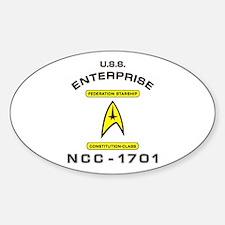 Star Trek NCC-1701 Decal
