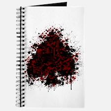 Splatter spade - red Journal