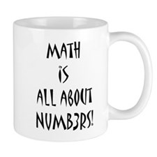 Math is all about Numb3rs Mug