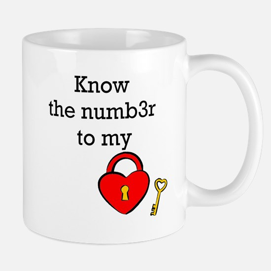 Know the numb3r to my heart Mug