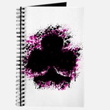 splatter club - pink Journal