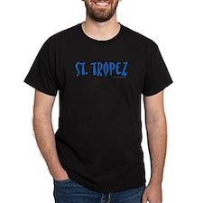 St. Tropez - Black T-Shirt
