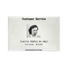 Customer Service Rectangle Magnet (10 pack)