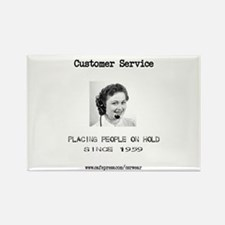 Customer Service Rectangle Magnet (10 pack)