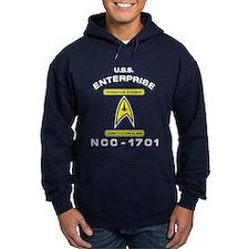 Star Trek NCC-1701 white Hoodie