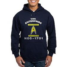 Star Trek NCC-1701 white Hoody