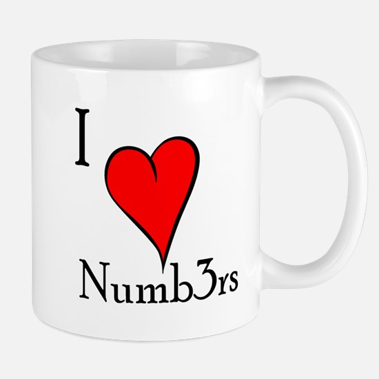 I love Numb3rs Mug