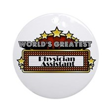World's Greatest Physician As Ornament (Round)
