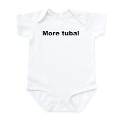 More Tuba! Infant Bodysuit