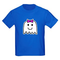 'Girl Ghost' Kids Dark T-Shirt