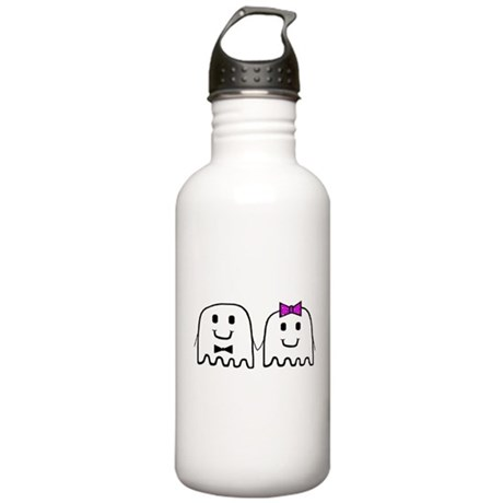 'Ghost Couple' Stainless Water Bottle 1.0L