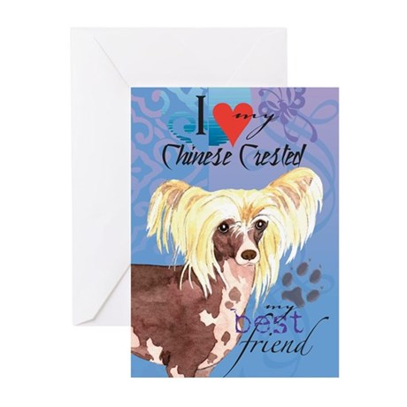 Chinese Crested Greeting Cards (Pk of 10)