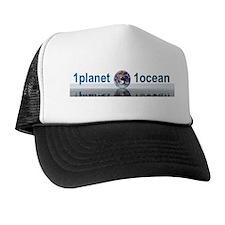 1planet1ocean Trucker Hat