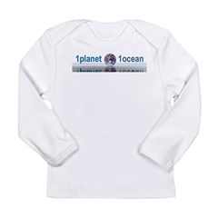 1planet1ocean Long Sleeve Infant T-Shirt