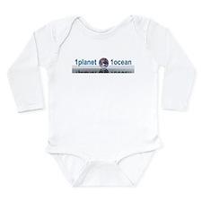 1planet1ocean Long Sleeve Infant Bodysuit