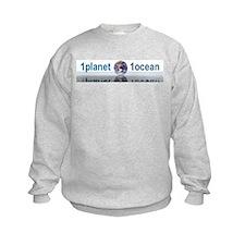 1planet1ocean Kids Sweatshirt