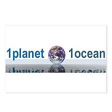 1planet1ocean Postcards (Package of 8)