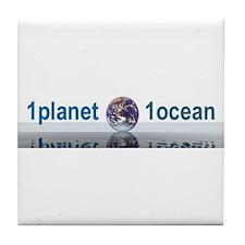 1planet1ocean Tile Coaster