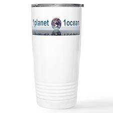 1planet1ocean Stainless Steel Travel Mug