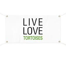 Live Love Tortoises Banner