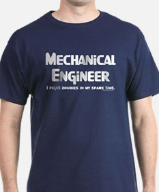 Mechanical Engineer Zombie Fighter T-Shirt