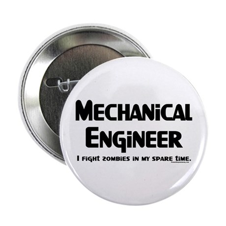 "Mechanical Engineer Zombie 2.25"" Button (10 pack)"