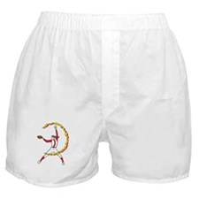 Womens Softball Pitcher Boxer Shorts