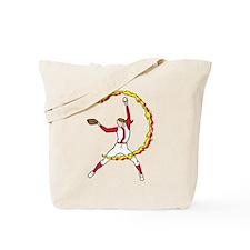 Womens Softball Pitcher Tote Bag