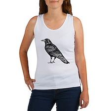 Charcoal Raven Women's Tank Top