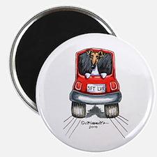 Smooth Fox Terrier Car Magnet
