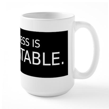 Untreatable Large Mug