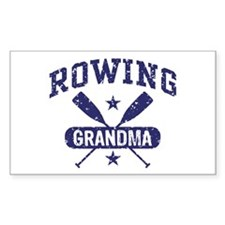 Rowing Grandma Decal