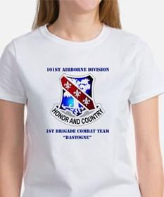 DUI - 1st BCT - Bastogne with Text Tee
