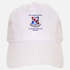 DUI - 1st BCT - Bastogne with Text Baseball Baseball Cap