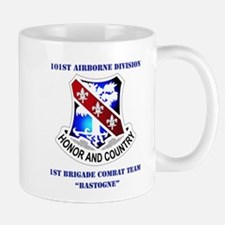 DUI - 1st BCT - Bastogne with Text Mug