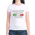 Quality Italian Parts Jr. Ringer T-Shirt