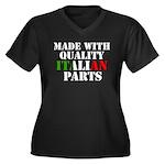 Quality Italian Parts Women's Plus Size V-Neck Dar