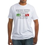 Quality Italian Parts Fitted T-Shirt