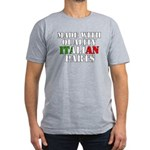 Quality Italian Parts Men's Fitted T-Shirt (dark)