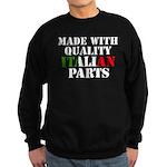 Quality Italian Parts Sweatshirt (dark)