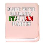 Quality Italian Parts baby blanket