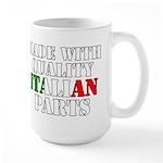 Quality Italian Parts Large Mug