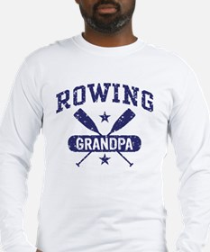 Rowing Grandpa Long Sleeve T-Shirt