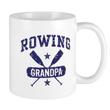 Rowing Grandpa Small Mug