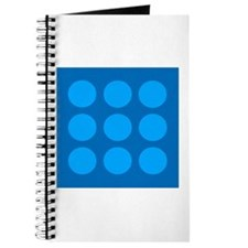 'Blue Polka Dot' Journal