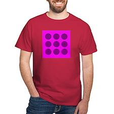 'Purple Polka Dot' T-Shirt