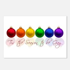 Tis the season to be gay Postcards (Package of 8)