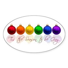 Tis the season to be gay Decal