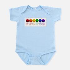 Tis the season to be gay Infant Bodysuit